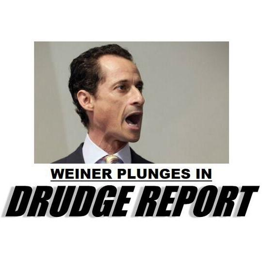 Weiner Plunges in
